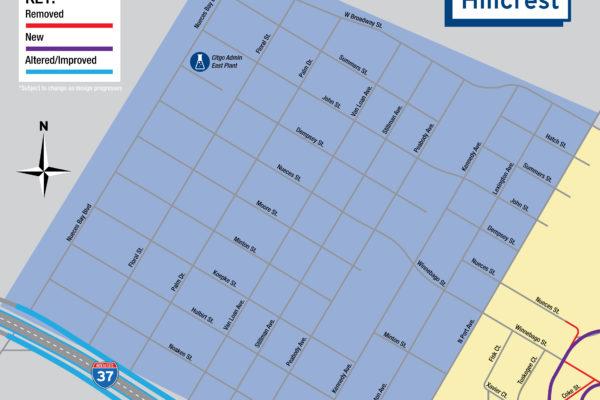 Harbor Bridge Project | Hillcrest Regional Map