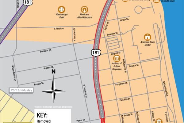 Harbor Bridge Project | SEA District Regional Map