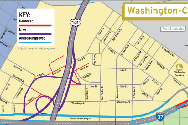Harbor Bridge Project | Washington-Coles Regional Map